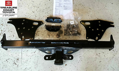 new oem toyota tacoma 2005-2011 tow hitch receiver, wire harness & foot rest