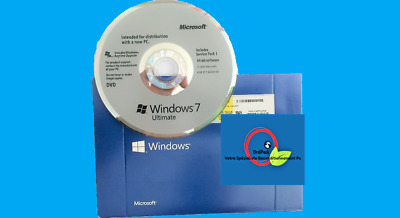 Microsoft Windows 7 Ultimate Complète RETAIL DVD📀32 ou 64bit 35 langues
