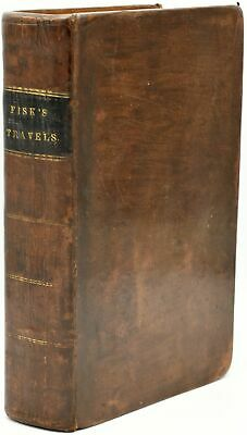 Wilbur Fisk / TRAVELS ON THE CONTINENT OF EUROPE VIZ IN ENGLAND IRELAND #287139