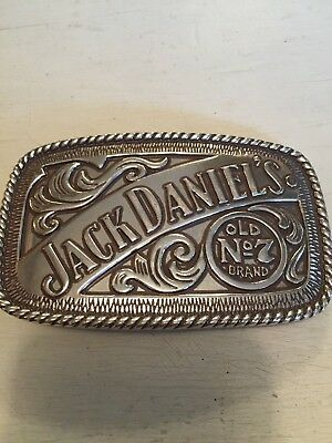 Jack Daniel's Old No 7 Brand Belt Buckle 2005 Numbered Dimensional Detailed