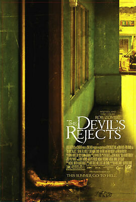 THE DEVILS REJECTS Movie Art Silk Poster 12x18 24x36