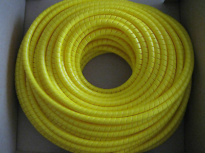 20 meter Hydraulic Hose Spiral Wrap Guard Potection 30-38mm JCB Forestry Tractor digger