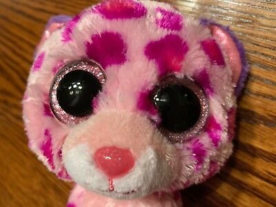 3f35100d841 TY Beanie Boo Glamour Pink Purple Leopard 6