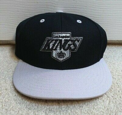 a326624ca Los Angeles Kings Mitchell & Ness Fitted Hat 7 1/2 Nhl Cap La Black