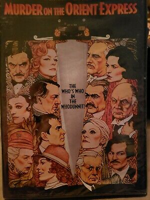 MURDER ON THE ORIENT EXPRESS 1974 movie poster FRENCH VERSION famous 24X36