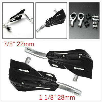 """1Set 7/8""""1 1/8""""Motorcycle Handguard Hand Guard Prevent Cold Wind Fit Dirt Bikes"""
