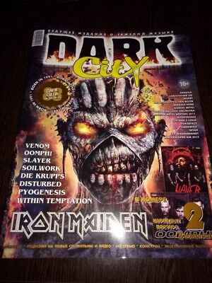MOTORHEAD, IRON MAIDEN,U.D.O.,Ozzy, SLAYER, OOMPH. Dark City No 88 2015.