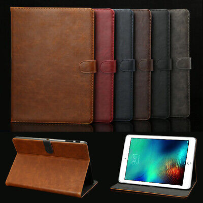 """Luxury Leather Cover Case For iPad 6th Gen 2018 5th Pro 9.7"""" 10.5"""" 11"""" 12.8 inch"""