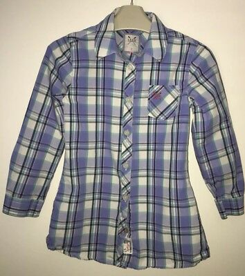 Girls Age 7 (6-7 Years) Designer Crew Clothing Fitted Shirt - Excellent Cond
