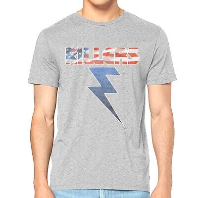 The Killers - Grey Bolt Official Licensed T-Shirt