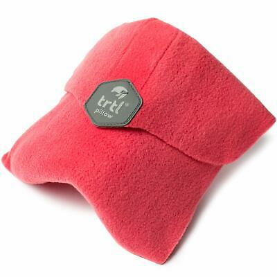 trtl Pillow - Scientifically Proven Super Soft Neck Support Travel Pillow- Coral