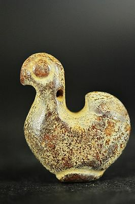 Chinese hongshan culture old jade carved Duckling Statue/pendant  A11