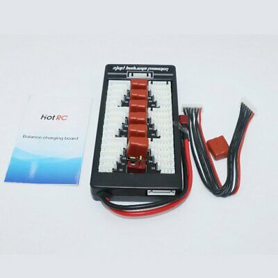HotRc 2S-6S T Plug Lipo Battery Parallel Charging Board for IMAX B6 Charger TY