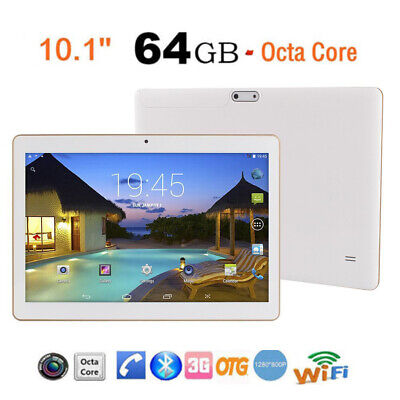 """10.1"""" Tablet PC 4G+64G Android 7.0 Octa-Core Dual SIM &Camera Wifi Phone Phablet"""