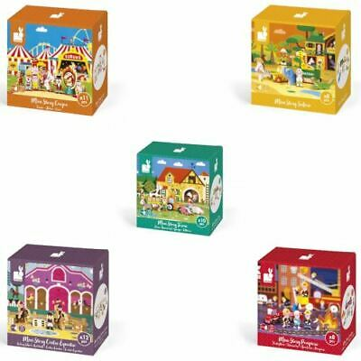 Janod Mini Story Wooden Figures Toy Toddler Pre School Child Play Set