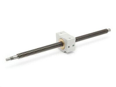 Trapezoidal Threaded Spindle Tr 12x6 P3 Right Ready to Install 485mm + Nut