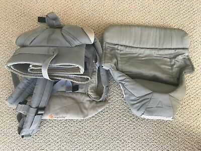 Ergo baby 360 Four Position Baby Carrier - Grey, used but great condition.