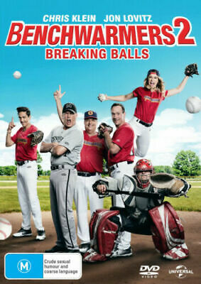 Benchwarmers 2 : Breaking Balls : NEW DVD : Aus Stock : *INSANE PRICE SMASH*