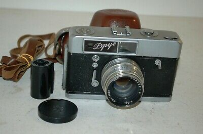 Droog / Druug Vintage 1960 Soviet Rangefinder Camera, Serviced. 6008481. UK Sale