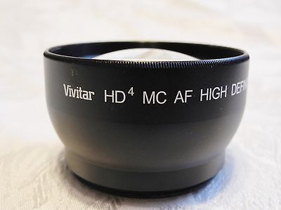 Vivitar Hd4 Mc Af Hd Telephoto Lens Converter For Nikon 3300-5500 - 2.2X