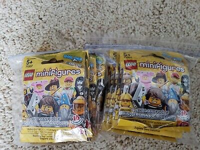 LEGO Series 12 71007 Collectible Minifigures Complete Set 16 Retired Sealed