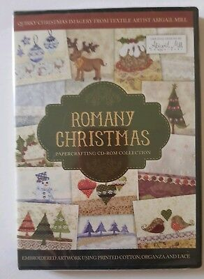 Romany Christmas Papercrafting C.D Crafter/'s Companion Rom