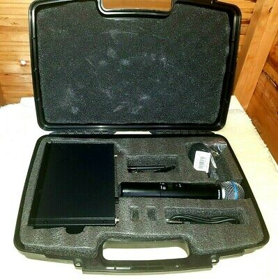 Shure Sm58 Beta 58A Slx Wireless Microphone Set 838-865 Mhz **licence Exempt **