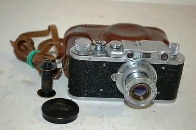 Fed 1, Type G, Vintage 1955 Soviet Rangefinder Camera & Case No.677014. UK Sale.