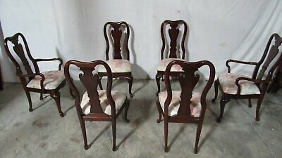 Thomasville Dining Room Chairs Queen Anne Dining Set Cherry
