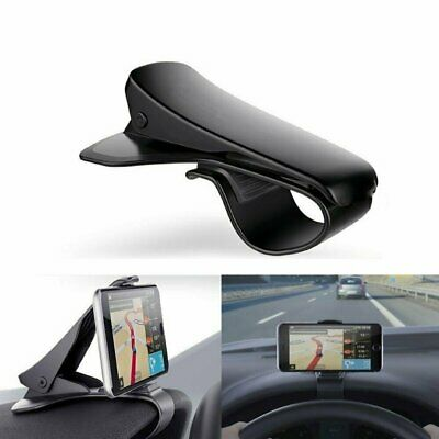 Universal Clip Car HUD GPS Dashboard Mount Cell Phone Holder Non-slip Stand UE