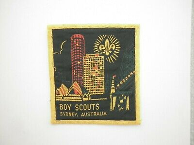 Australia scout badges patches  $5.50 includes postage within australia