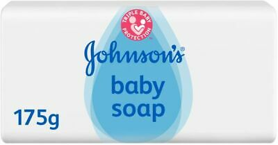 Johnson's Baby Soap Bars x 2 175g Each Bath Delicate Skin