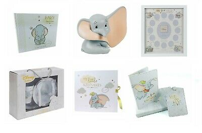 Official Disney Baby Dumbo Themed Gift Sets Photo Album Frame Moneybox Plates