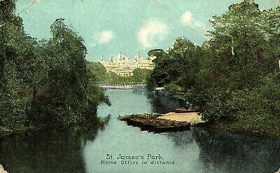 London - St James Park and Home office