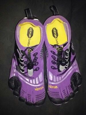 buy popular 260b4 23f2a Vibram Fivefingers W3773 Komodo Sport Women s 36 Purple Black Shoes