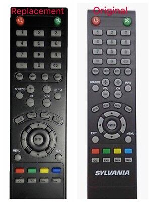 New Replaced SYLVANIA Remote Control for Sylvania LED LCD Smart TV