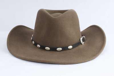 03228b1f Renegade Size S Delmonico Brown 100% Wool Water Repellent Western Hat 8SE  AC11E