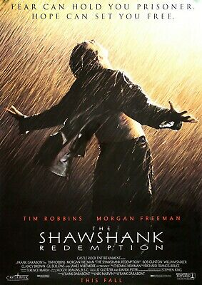 The Shawshank Redemption Movie Film Photo Print Poster Picture WALL ART