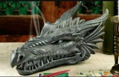 Latex only  mold  plaster concrete casting garden dragon head mold