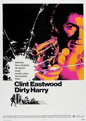 Dirty Harry Movie Film Photo Print Poster Picture ART Clint Eastwood