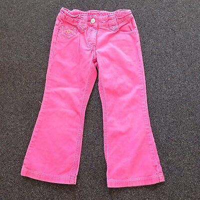 Girls Pink Cord Trousers, Next, Age 5 Years
