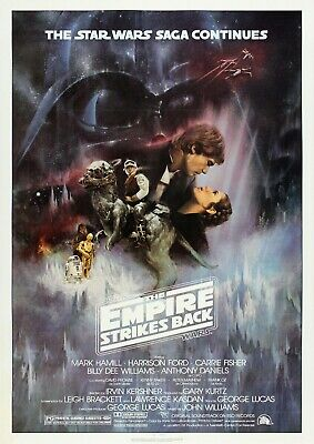 The Empire Strikes Back Star Wars Movie Film Photo Print Poster Picture