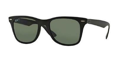 9faa6beae05c9 New Ray-Ban Liteforce RB4195 601S9A Matte Black  Polarized Green 52mm Lenses
