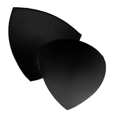 Black Triangle Sew-In Bra Cups - Size S - 1 Pair