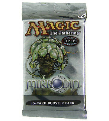 Magic Mtg Mirrodin Factory sealed Booster Pack X 3 !
