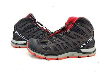 new concept 54c1c 7eb38 SALOMON 370610 KALALAU Running Shoes Pink Women's Size 6.5 ...