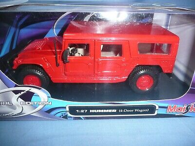 Maisto 1/27 Special Edition  Hummer Red