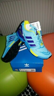 1b1505aff67cd Deadstock Adidas ZX Flux Torsion Aqua.Retro unisex Trainers size 6uk..eur 39