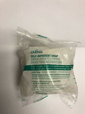 ****Caring Self- Adherent Wrap 2 in x 5 Yds (5 cm x 4.5m )