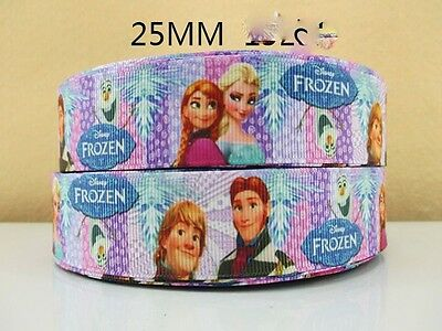 ANNA FROZEN FLOWER RIBBON SIZE INCH BOWS HEADBANDS BIRTHDAY CAKE 2 METRE ELSA